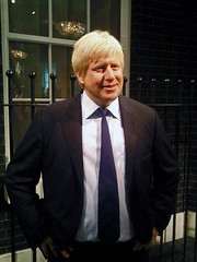 Boris Johnson Waxwork