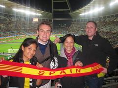 070710 Durban (WC Semifinal: Germany vs. Spain)