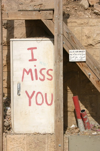 Use at your own risk/I miss you