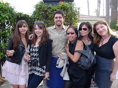 Marie, Vivianne, Esther, Jo, Julie & Ludo