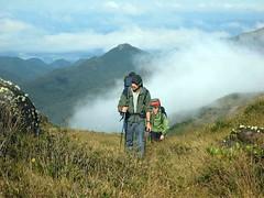 136ª Trilha: Travessia de 2 dias na Serra do Quiriri SC - 24 e 25/07/2010 - Clube Trekking Santa Maria RS por trilhasvv