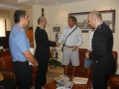 2010-08-03 - ringraziamento ai CC dei parenti dell'aggredito