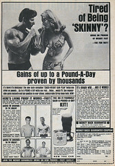 Vintage Ad #1,177: Tired of Being Skinny?