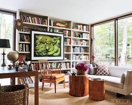 Jesse Carrier Fielden house library