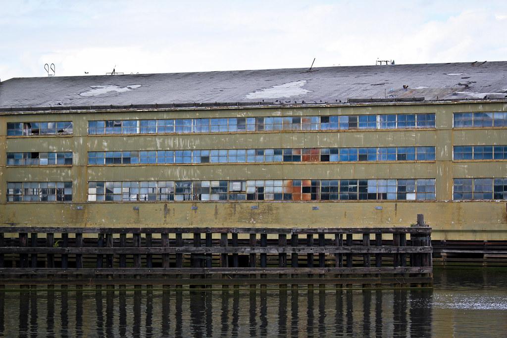 Derelict warehouse
