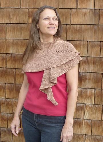 Lune shawl