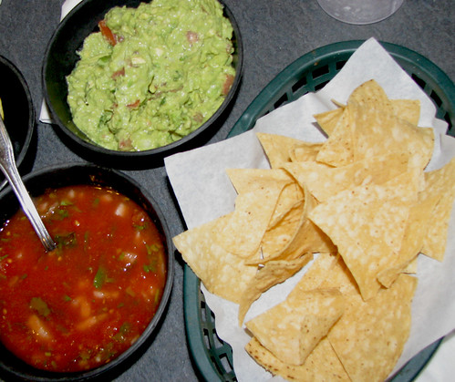 Salsa, Chips & Guacamole