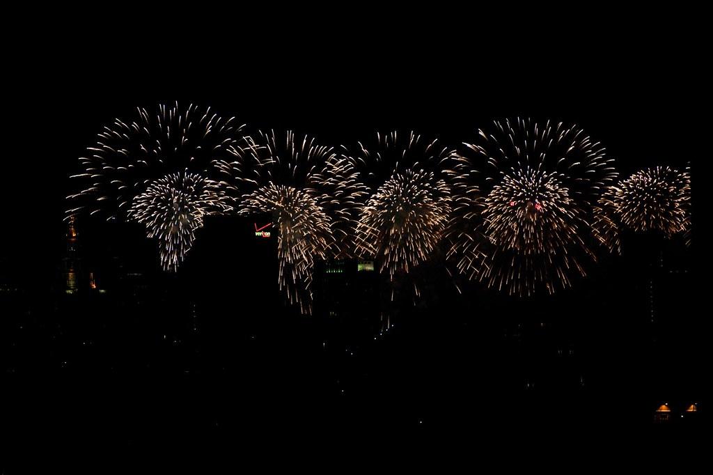 Macy's Fireworks from Brooklyn