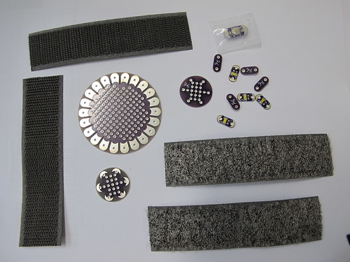 Conductive velcro has arrived!
