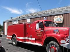 IL - Old Shabbona Volunteer Fire Truck