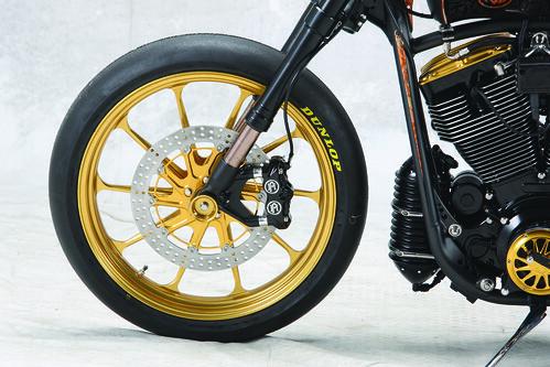 2009 - ROLAND SANDS DESIGN - Black Beauty, Modified Harley