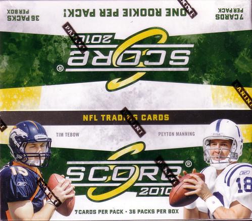 2010 Score box