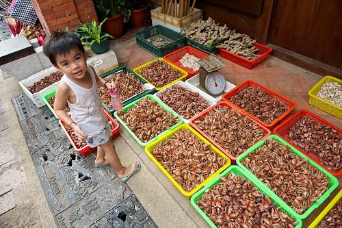 Fresh Produce on Shenkeng Old Street
