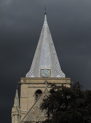 Rochester Cathedral and Clouds