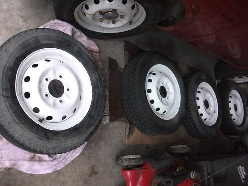 Wheels finished