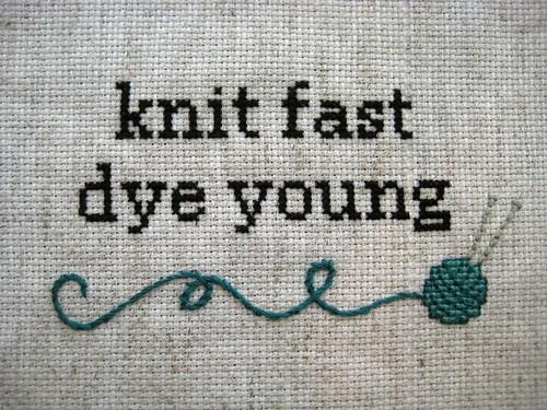 knit fast, pt.1