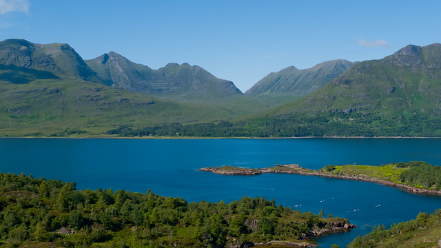 The idyllic Torridon area of Scotland