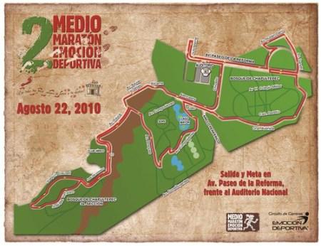 Ruta Medio Maratón Emoción Deportiva