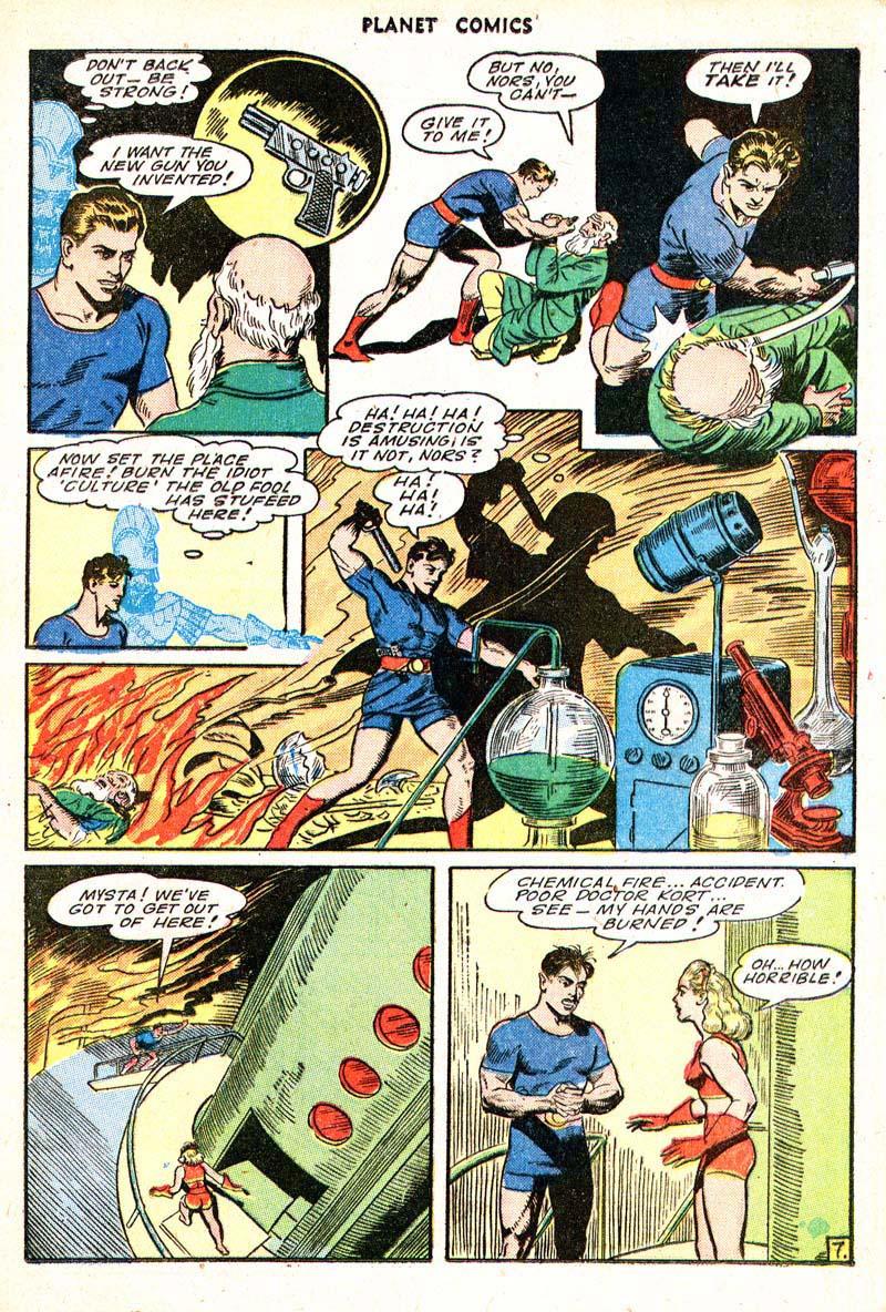 Planet Comics 35 - Mysta (March 1945) 07