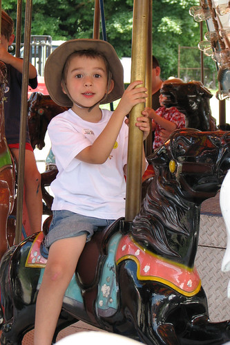 Bug on the Carousel