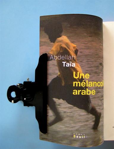 Abdellah Taïa, Uscirò da questo mondo e dal tuo amore, Isbn 2010, grafica di Alice Beniero: verso della cop. (part.), 1