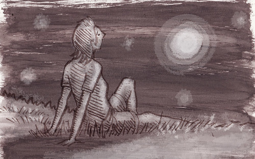 Illustration Friday: Satellite