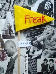Yellow sm. freak flag