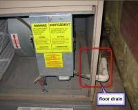 Furnace water drain problem in my basement