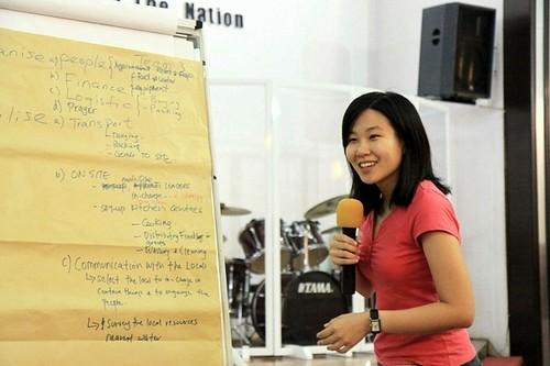 A team leader explains her team's Crisis Response Planning