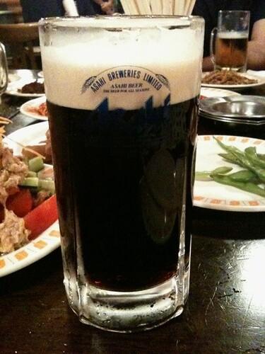 黒ビールがある!うれしい~ #twinomi