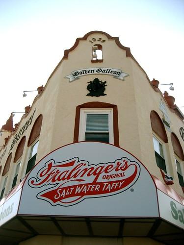 NJ Fralinger's Salt Water Taffy Golden Gallion