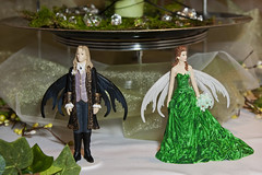 Elfin cake toppers