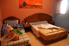 Camping Sable d'Or Residence en El Ouatia, Hotel Bungalows Playa Marruecos