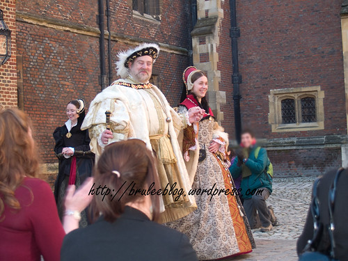 King Henry VIII and Queen Catherine Parr