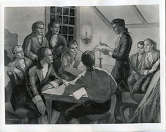 Nathan Hale at Linonia Society