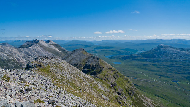 View from Liathach