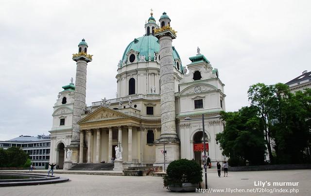 聖卡爾教堂St. Charles's Church (Karlskirche)