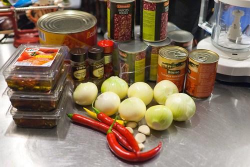 Chili con carne: ingrediënten