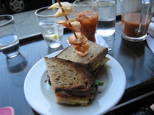 Cadaqués Tapas Bar sandwich