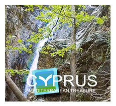 Troodos mountain stream travel Cyprus