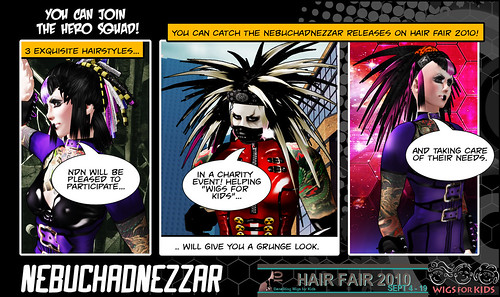 Join the hero Squad - Hair Fair 2010