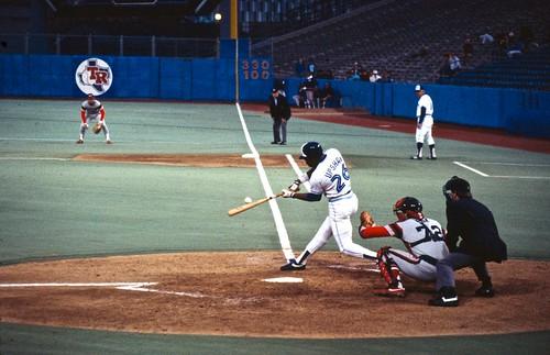 Jays at Exhibition Stadium, 1980's