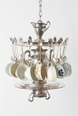 tea chandelier
