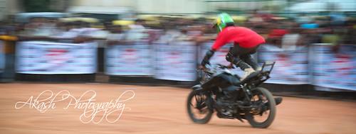 Denim Moto Mania Bike Stunt   Bangalore