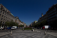 View of Wenceslas Square
