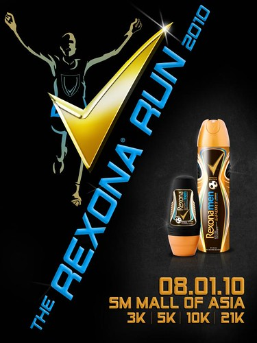 Rexona Run flyer front