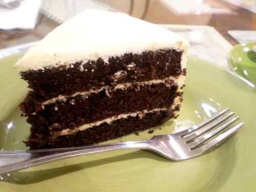 Velvet Cake @ Cafe Mary Grace