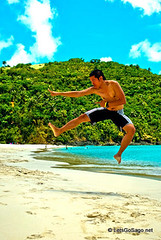 Calaguas Beach Jump