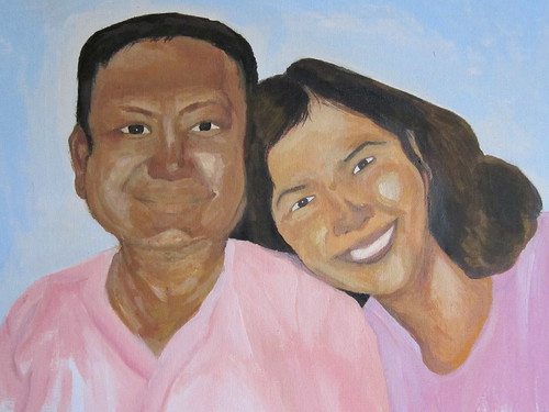 portrait - mom and dad (unfinished)14