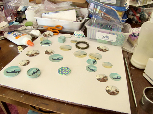 More pendants in progress